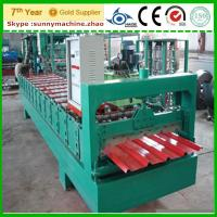 Cheap roof tile making machine , roof sheet panel roll forming machines wholesale
