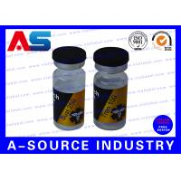 Buy cheap Steroid Bottle Labels Of 10ml Glass Bottles, Medical Private Hologram Labels Printing from wholesalers