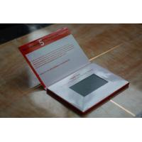 Cheap 600 mAh LCD Video Brochure CMYK Printing Customized Tft Lcd Video Business Cards wholesale