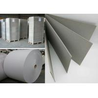 Buy cheap Recycled Material Hard Stiff 1000gsm Grey Paper board in Sheet or Reel from wholesalers