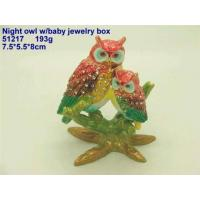 Cheap Night Owl W/Baby Jewelry Box wholesale