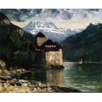 China Impressionist(3830) Chateau du Chillon wholesale