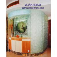 Cheap Glasswork fused glass wall wholesale