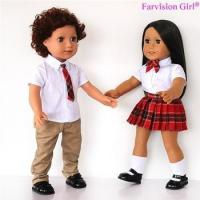 EXCLUSIVE DESIGNS boy and girl dolls 18 inch twins doll Wholesale