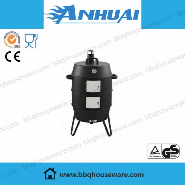 Quality 19.5 inch BBQ Combo Water Smoker for sale