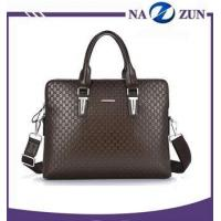 China Brown tote hand bags, china wholesale no moq men handbag wholesale