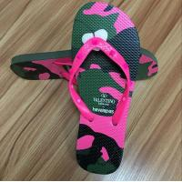 China High quality natural rubber Flip flop with rubber strap wholesale