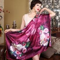 China 110*110 Square 100%Silk Scarf wholesale