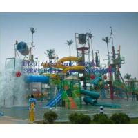guangdong product fiberglass water park game amusement castle house trampoline equipment p