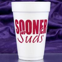 "China 16 oz. ""Sooner Suds"" Foam Cups wholesale"
