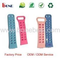 China Wholesale Colorful Soft Rubber Silicone Watch Band Strap Bracelet / Rubber Wrist Strap wholesale