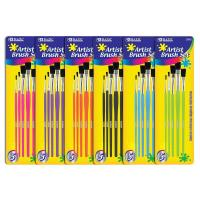 China Arts & Crafts BAZIC Asst. Size Paint Brush Set (5/Pack) $ 2.59 wholesale