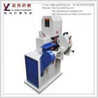 wood and metal tubes surface deburring and wire drawing grinding machine