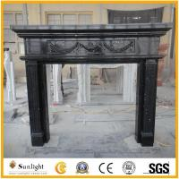Culture Stone China natural stone insert decorative cultured marble firepl