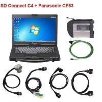China SD Connect C4 with Panasonic CF53 Laptop XDOS 2017-05 Win7 system wholesale