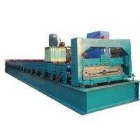 Green C Purlin Roll Forming MachineFor Making 760mm Width Roof Purlin