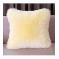 Cushion China Supplier Colorized Real Mink Fur Decorative Pillow