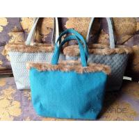 Rabbit fur tote