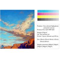 Inkjet canvas eco-solvent high glossy