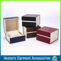 China New Design Handmade Paper Package Logo Printed Watch Box wholesale