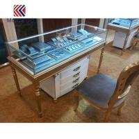 Jewelry Counter Cabinet with Storage at Bottom