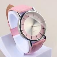 Pink fashion analogue lady watch