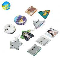 Lovely Shapes Metal Tin Button Badges