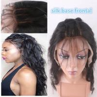 """China 13""""*4"""" Silk Base Frontal Closure With Hidden Knot Body Wave hair weave wholesale"""