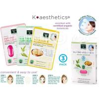 SKIN THERAPY K-aesthetics Organic Essential Beauty Mask - 3 pk