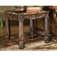 Cheap AICO Windsor Court Antiqued Fruitwood Victorian End Side Table wholesale