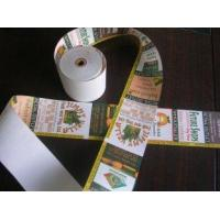 Cheap cash printer rolls and label adhesive rolls , thermal ATM cash register paper roll wholesale