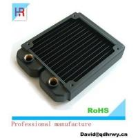 China High performance copper projector/machine liquid cooling radiator wholesale