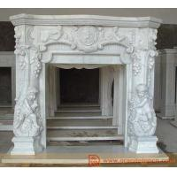 Stone Fireplace - Marble