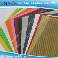 Colored 3D carbon fiber sticker vinyl film