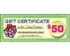 Quality $50 Angora Mohtique Gift Certificate for sale