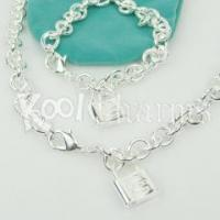 Cheap Engraved Lock Tag Jewelry Sets TFS14 wholesale