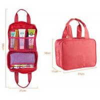 China Womens double handles toiletry bag for travel wholesale
