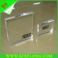 cheap price acrylic sign board holder ,acrylic block