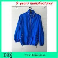 China invisble hood waterproof jackets for sport girls women clothing wholesale