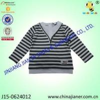 China Child T-shirt with Customer Design Long Sleeve Boy Handsome T-shirt wholesale