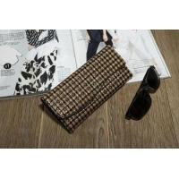 Latest hot sale high quality leather bags women fashion gold color clutch bags 2015
