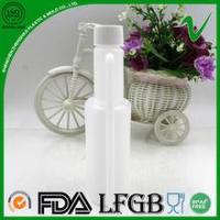 HDPE wholesale disposable twin neck bottles with screw cap