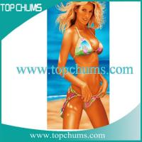 Buy cheap personalized photo beach towel bt0282 sex from wholesalers
