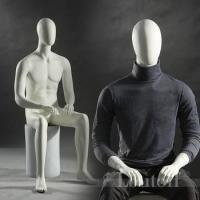 China New arrival sitting men mannequins for window display shop wholesale