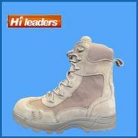 China New design Tan military boots/ black combat boots/ desert boots wholesale