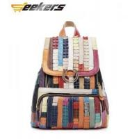 China Multicolor leather Women's handbags, shoulder bags, leather messenger bag, leather bag Leisure pack wholesale