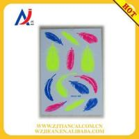 China New glow in the dark metallic temporary tattoo stickers with fluorescence wholesale