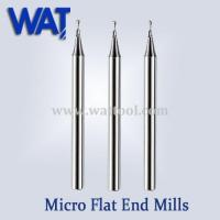 China 2 Flute Micro Flat End Mills wholesale