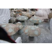 Cheap carved garden mushroom wholesale