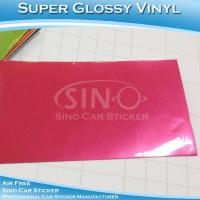 High Glossy Red Auto Vinyl Film For Car Decoration